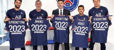 ปารีส ขยายสัญญาใหม่ ปอเซ็ตติโน่ ถึงปี 2023